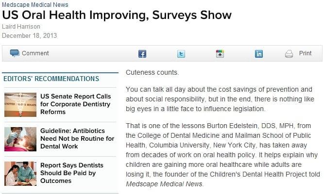 Oral Health Improving