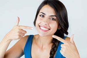bleaching teeth